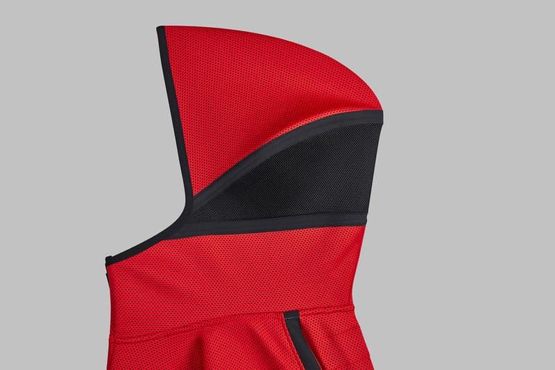 NBA Nike Reveal Therma Flex Showtime Warm up Jacket Washington Wizards red white blue