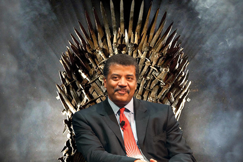 Neil DeGrasse Tyson Game of Thrones Ice Dragon