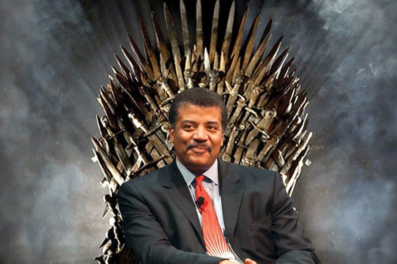 Neil DeGrasse Tyson Game of Thrones Ice Dragon