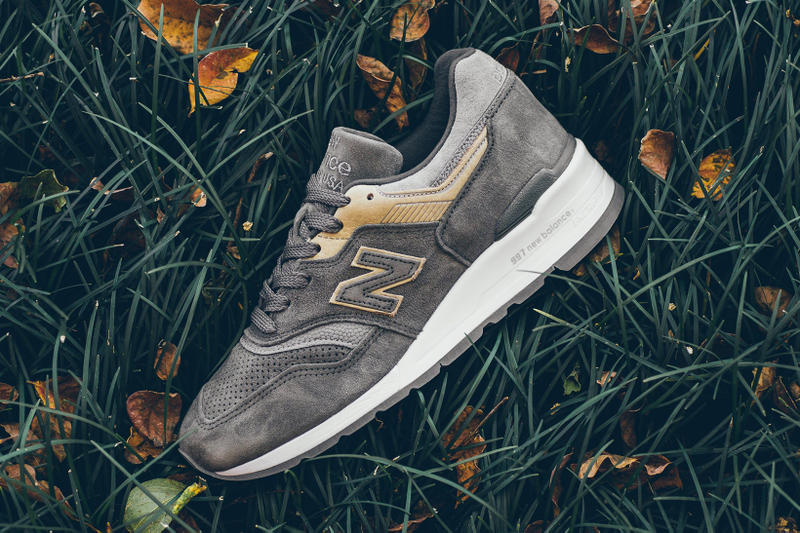 New Balance M997FGG Grey Tan Suede Leather USA Made Sneakers Shoes Footwear 2017 September Release Date Info Politics