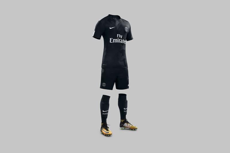 Neymar New PSG Third Kit Nike Paris Saint-Germain
