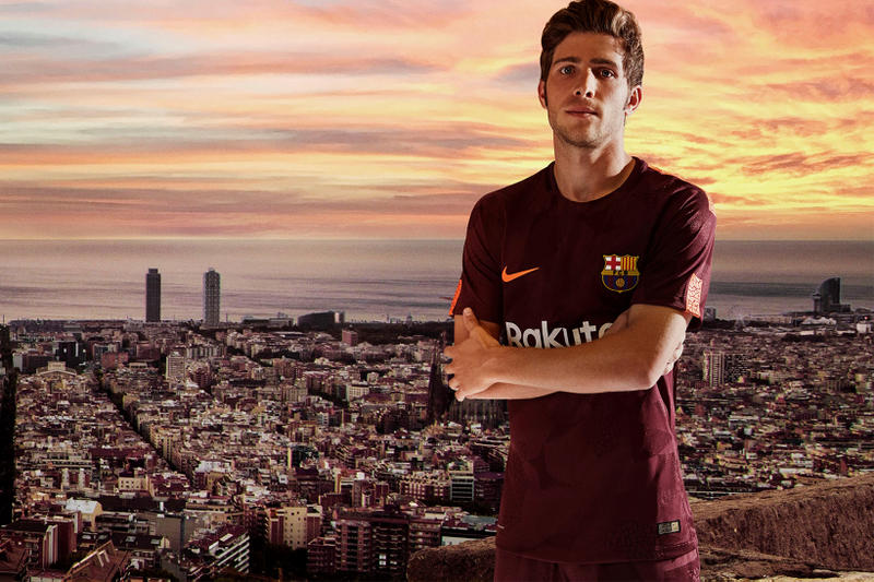 Nike 2017 18 Third Kit Barcelona Chelsea Manchester City Tottenham Hotspur  Inter Milan AS Roma 2ee9b7b19