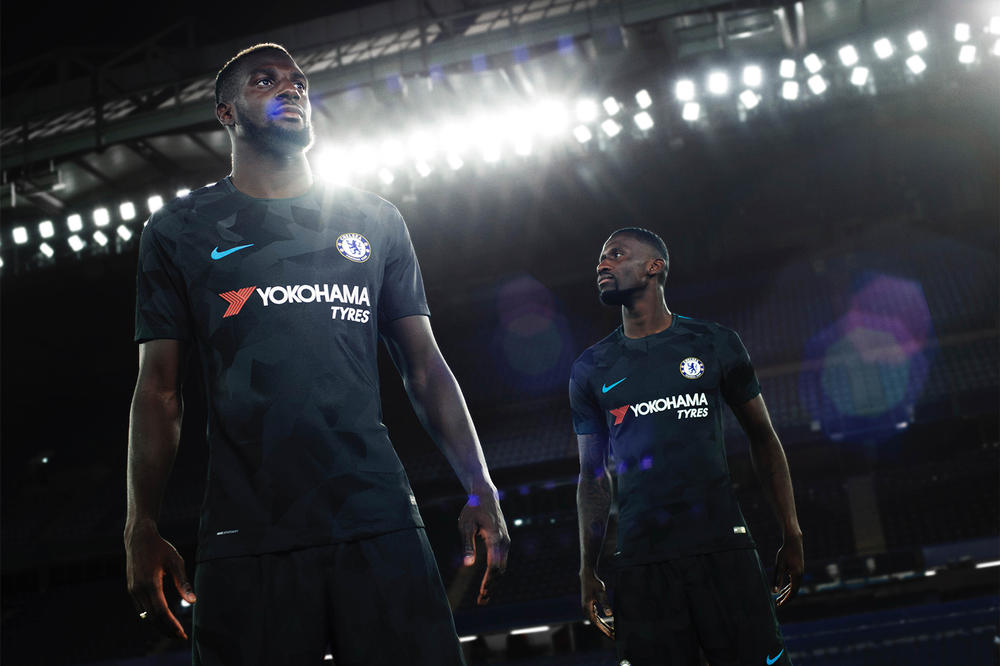 Nike 2017 18 Third Kit Barcelona Chelsea Manchester City Tottenham Hotspur Inter Milan AS Roma