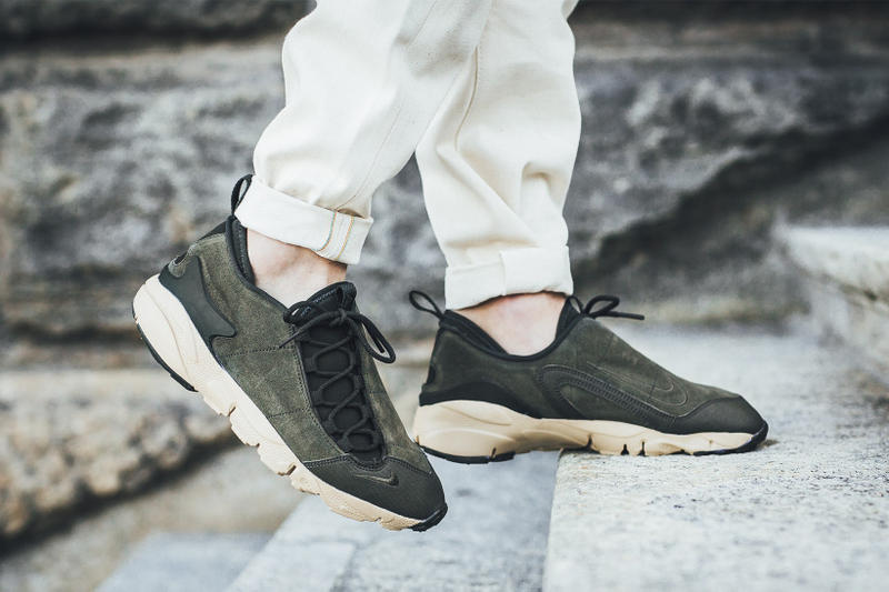 Nike Air Footscape NM Sequoia Mushroom 2017 September Release Date Info Sneakers Shoes Footwear Titolo