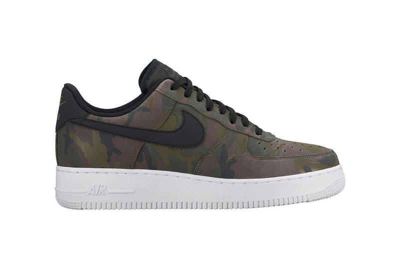 Nike Air Force 1 Low Trio Camo Print Release Date Info Drops Olive Wheat Green Orange Black White