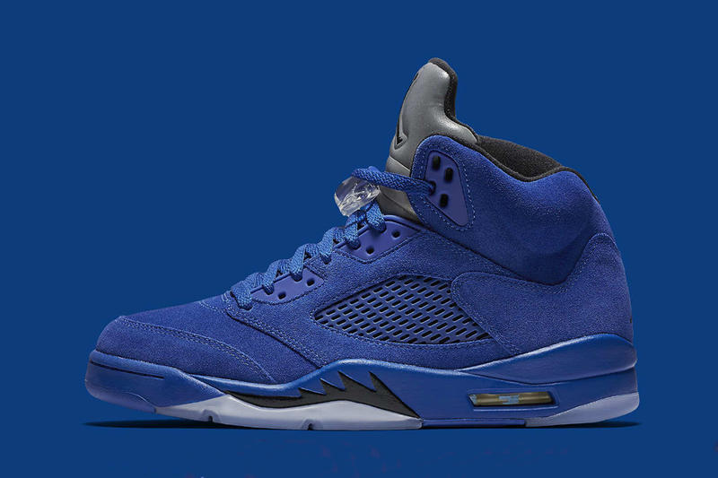 "f2612e60019 Air Jordan 5 Retro ""Flight Suit"" 