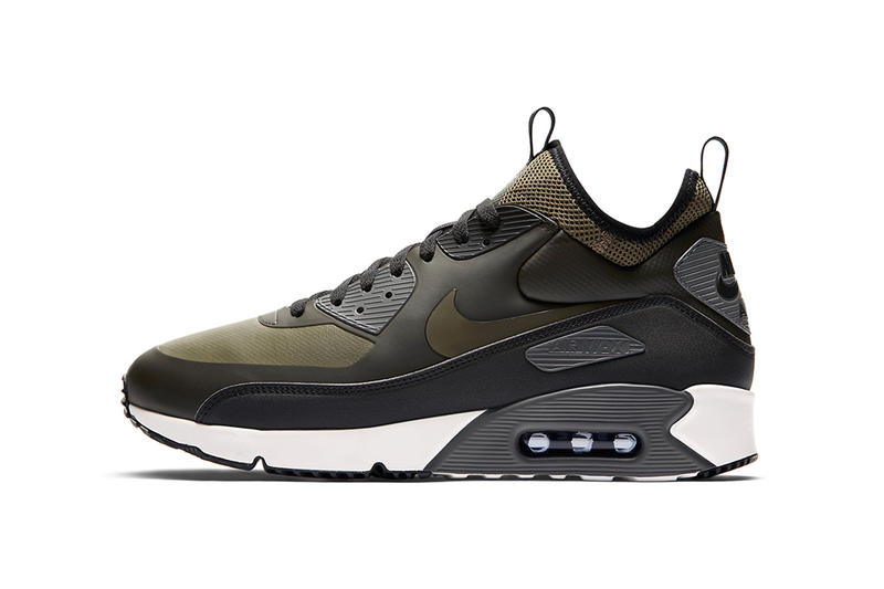 89568f512a Nike Air Max 90 Ultra Mid Winter 2017 Fall Release Date Info Sneakers Shoes  Footwear Black