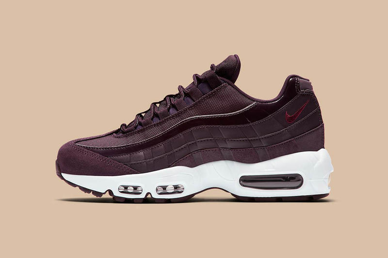 a7e0965d6cc Nike Air Max 95 Bordeaux Port Wine 2017 Fall Winter Release Date Info  Sneakers Shoes Footwear