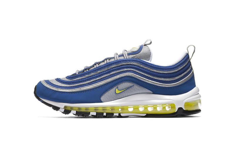 f6c441be6f3 Nike Air Max 97 Atlantic Blue Voltage Yellow 2017 September 21 Release Date  Info Sneakers Shoes