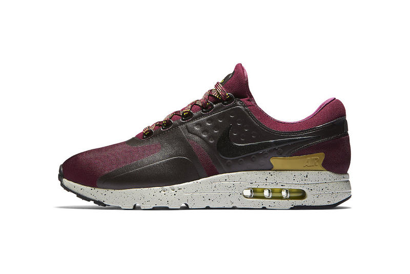 Nike Air Max Zero Bordeaux Bright Cactus 2017 September Release Date Info Sneakers Shoes Footwear