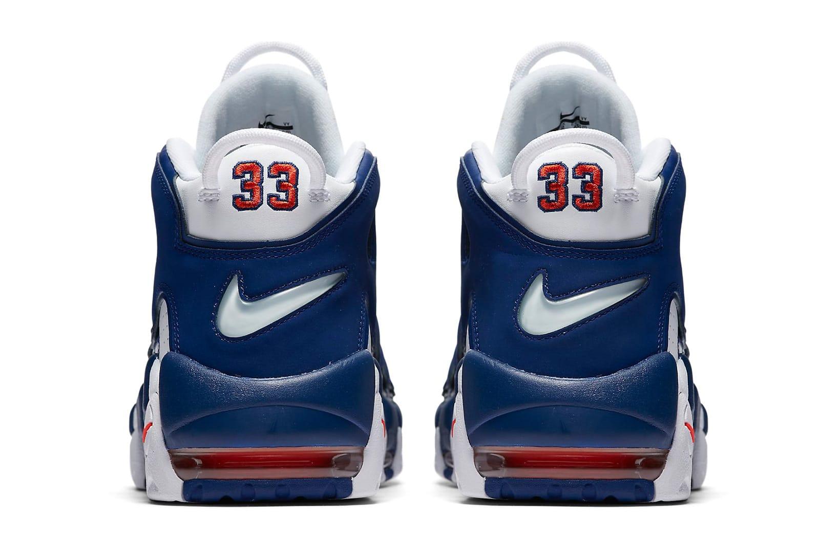 Nike Air More Uptempo NY Knicks Blue