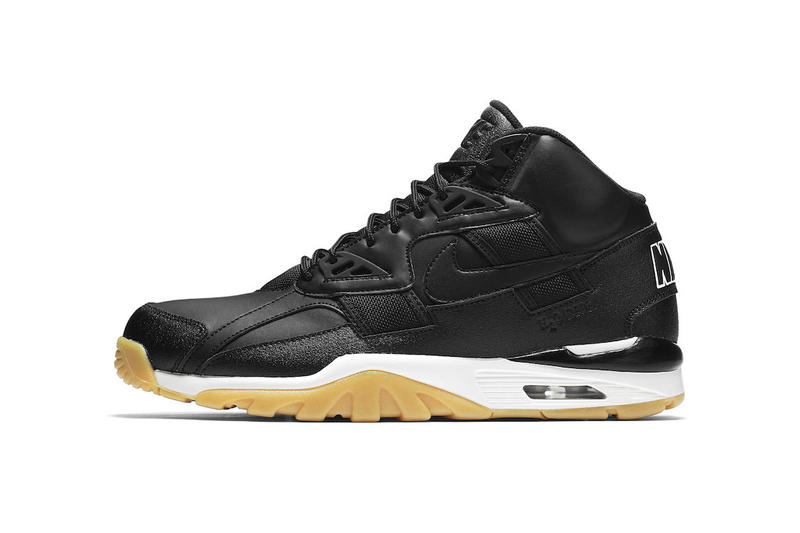 d4bbf578298636 Nike Air Trainer SC High Black Gum Sneakers Shoes Footwear 2017 Fall Release  Date Info