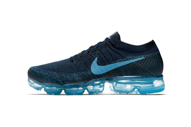 Nike Air VaporMax College Navy Blustery Black Cerulean 2017 Fall Release Date Info Sneakers Shoes Footwear