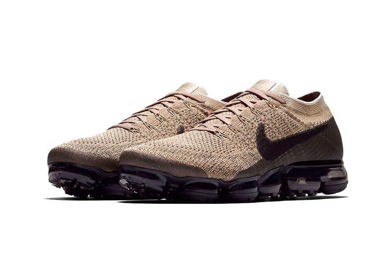 Nike Air Vapormax Tan Brown Black footwear sneakers