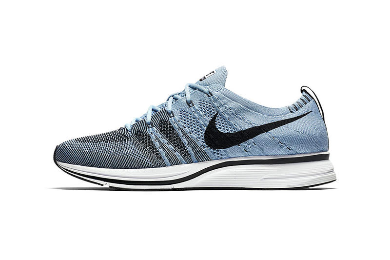 separation shoes d666c fd2d7 Nike Flyknit Trainer Cirrus Blue official images release date footwear  light carolina