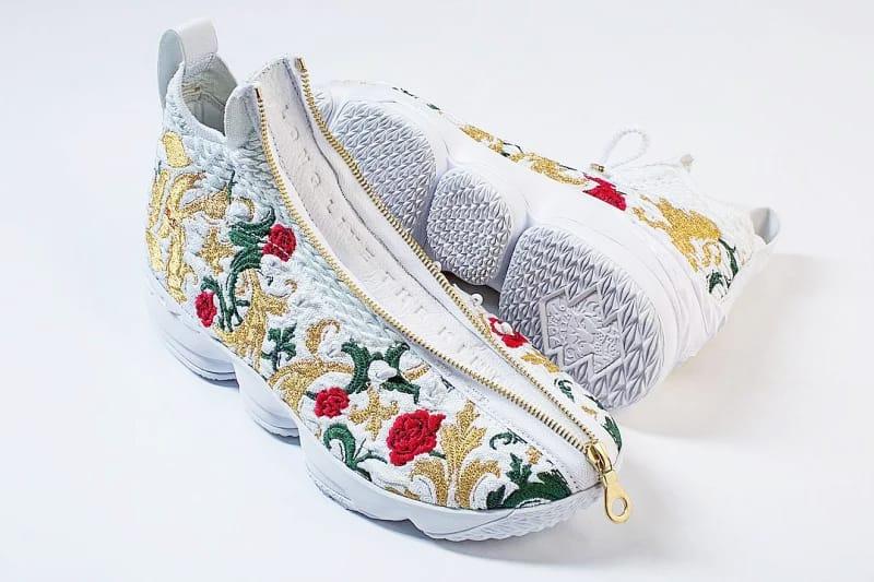 Nike LeBron 15 Zip Floral Colorway