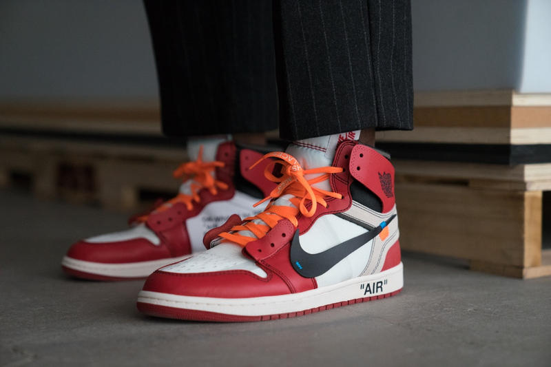 383331afb3e8 Virgil Abloh x Nike Off Campus London Activities Neville Brody Benji B
