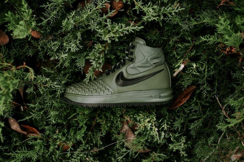 online store 0e4f3 0b758 Nike Lunar Force 1 Duckboot Medium Olive Dark Green Colorway