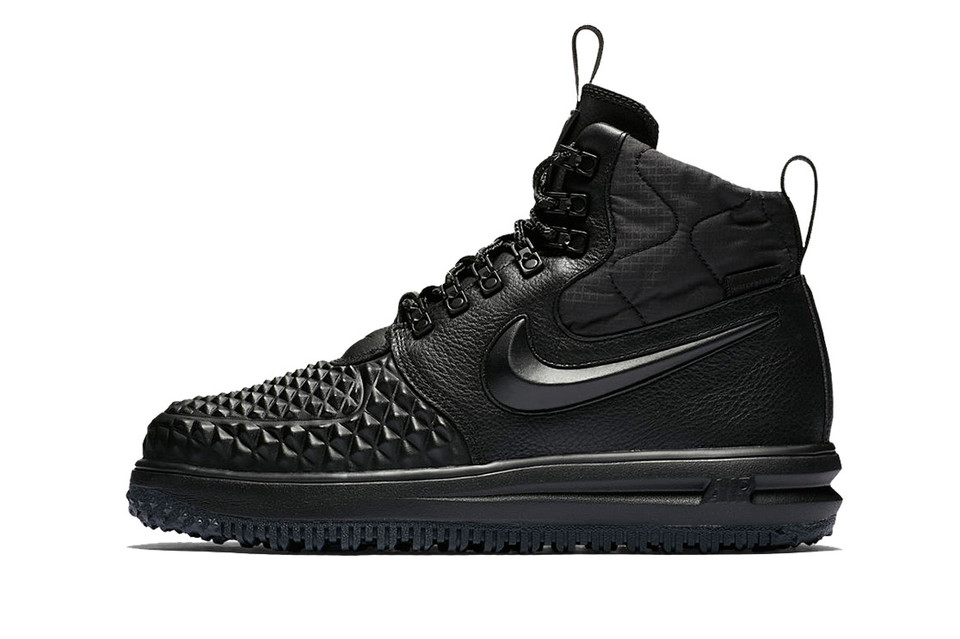 new concept 9ef41 5d8c7 Nike s Lunar Force 1 Duckboot Returns to Battle Inclement Weather in Style