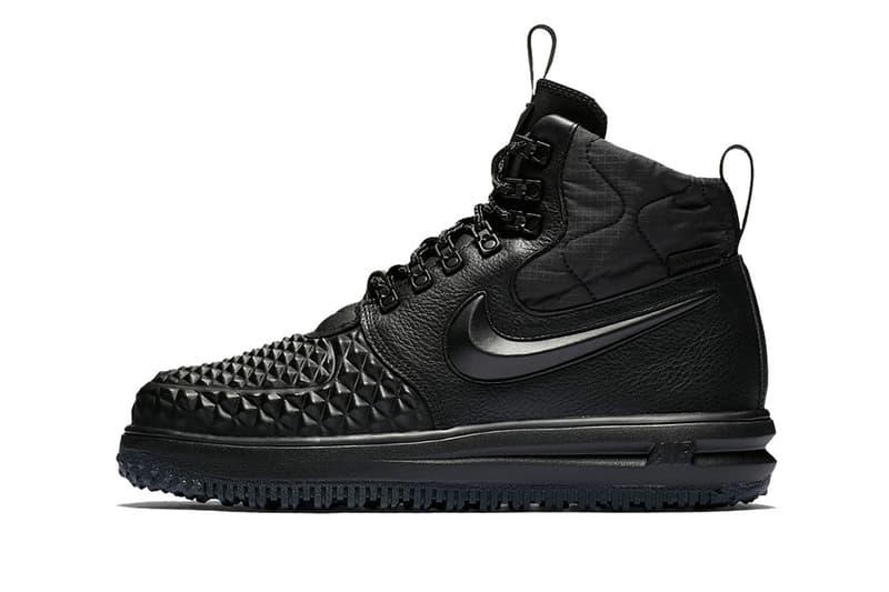 Nike Lunar Force 1 Duckboot black olive footwear 2017 winter fall boot  sneaker sneakerboot f83aee78b30f