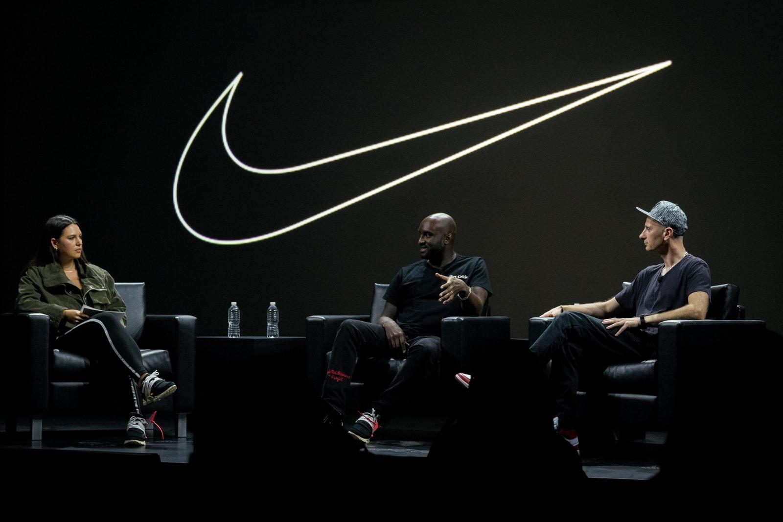 Virgil Abloh x Nike Off Campus London Activities Neville Brody Benji B