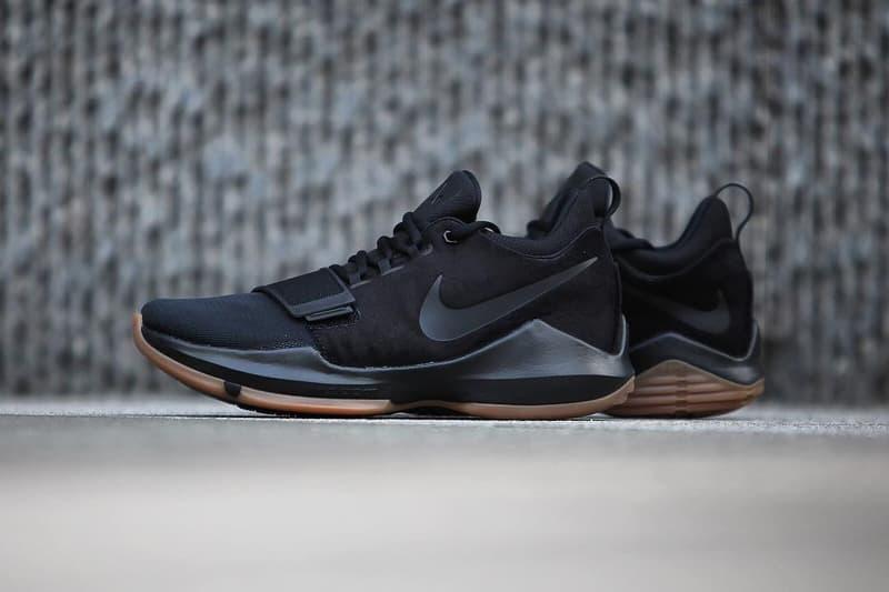 Nike PG1 Black Gum Paul George Colorway Sneakers Shoes Footwear 2017 Fall Winter Release Date Info