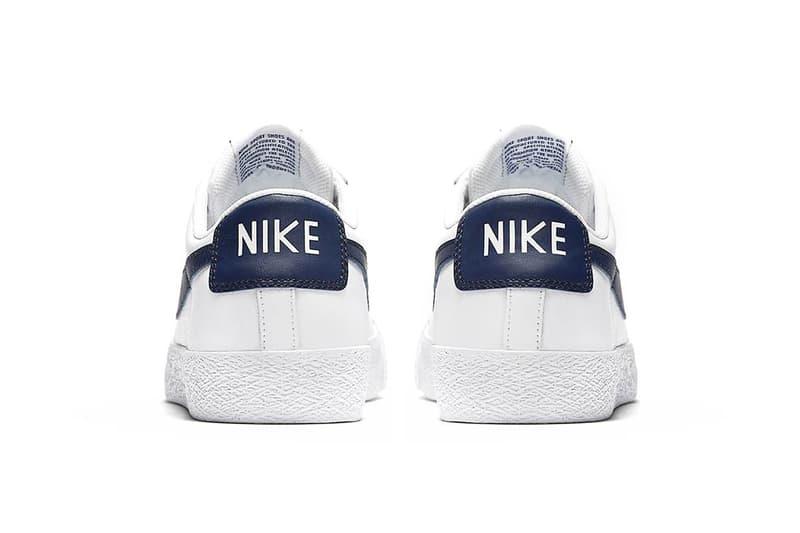 Nike SB Blazer Low White Obsidian Mineral Gold