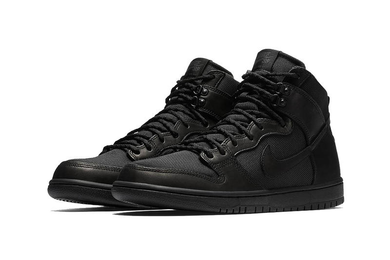 Nike SB Dunk High Triple Black Boot Release Dates Info