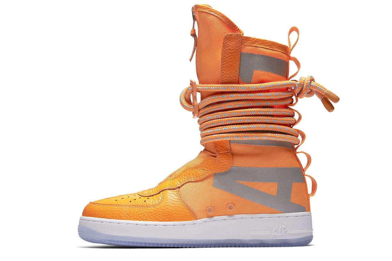 Nike Unveils Three New SF-AF1 High