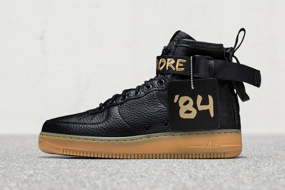 Nike SF AF1 Baltimore Air Force 1 2017 September 30 Release Date Info Sneakers Shoes Footwear