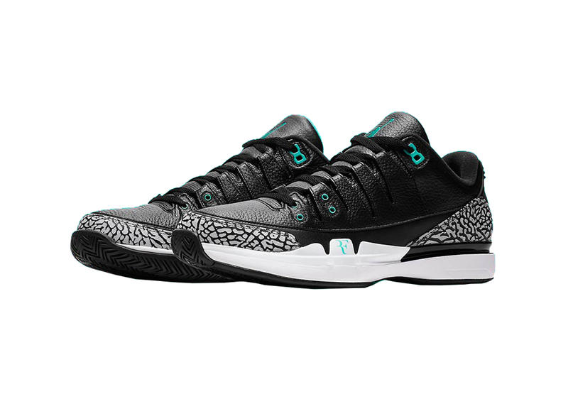 Roger Federer Nike Zoom Vapor Tour AJ3 atmos Colorway Release Date Info October 2017 Price