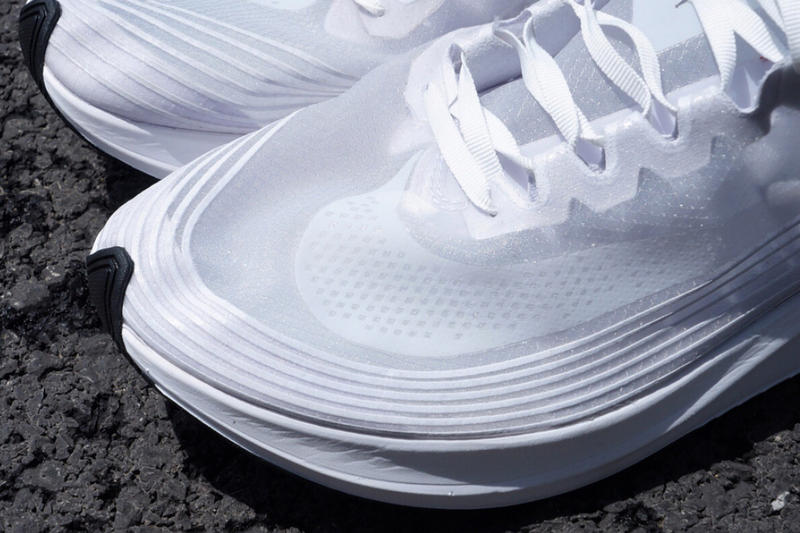 NikeLab Zoom Fly SP Triple White Nike 2017 Release Date Info Sneakers Shoes Footwear