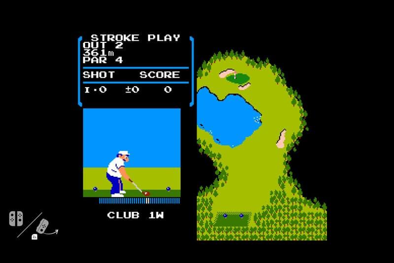 Nintendo Switch NES Golf Hidden Game