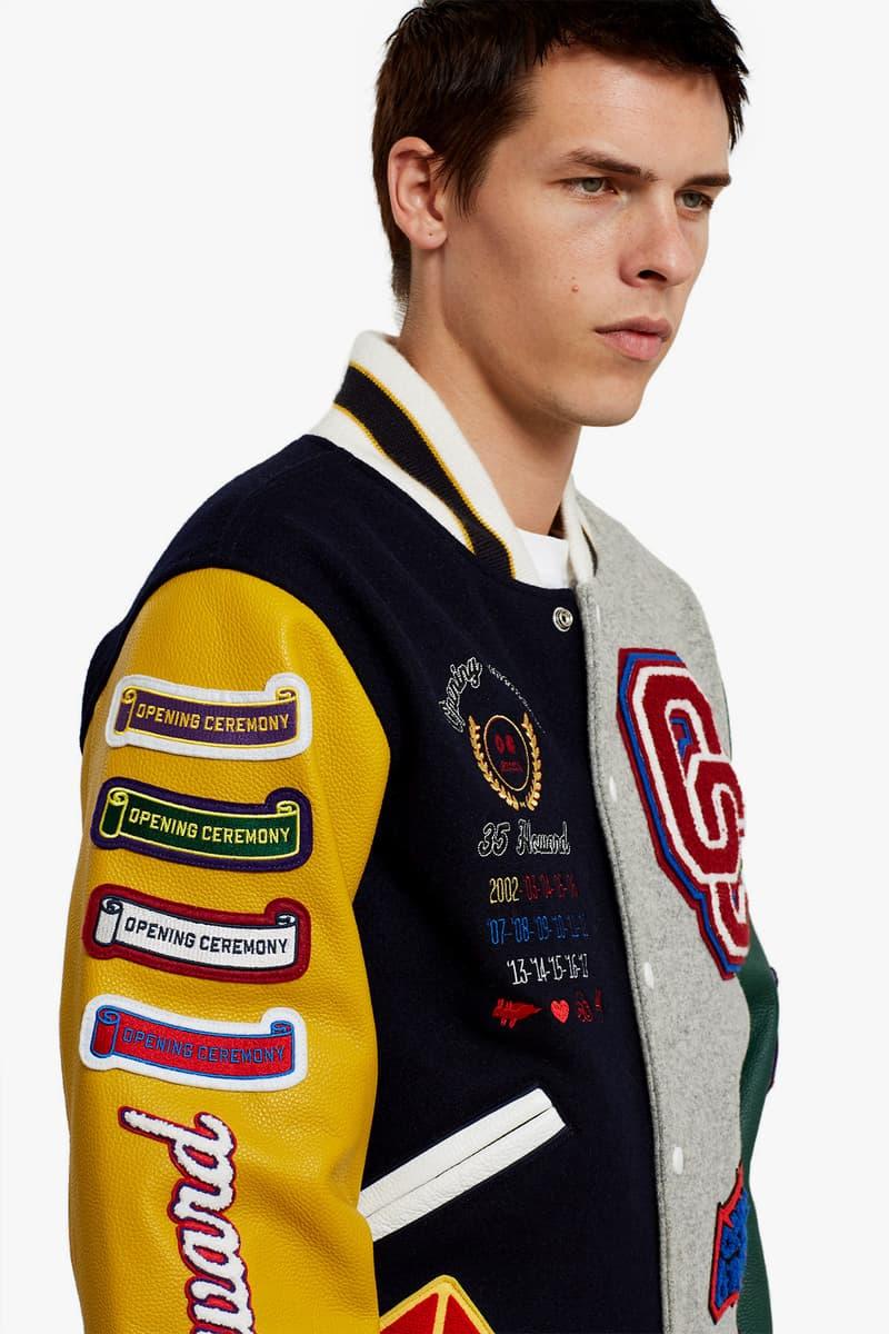 Opening Ceremony Limited Edition 15Year Anniversary Varsity Jacket