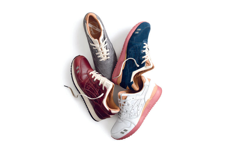 Packer Shoes J Crew ASICS GEL Lyte III 1907 Collection Collaboration New Era 2017 September 28 Release Date Info