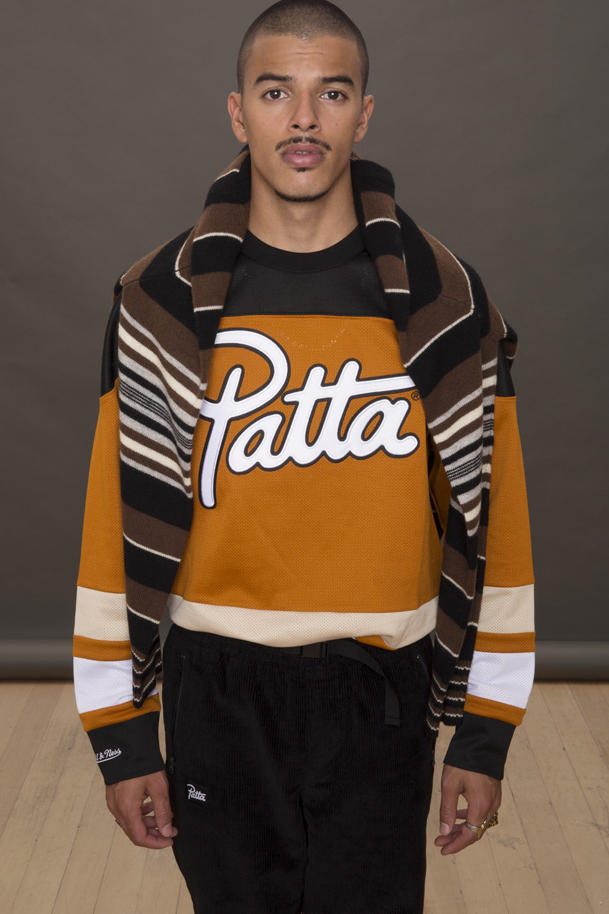 Patta Mitchell Ness Fall 2017 Capsule Collection Collaboration Jersey Jacket Release Info Date Drop September 22