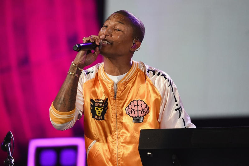 Pharrell Williams NERD 2017 Global Citizen Festival Human Made Jacket