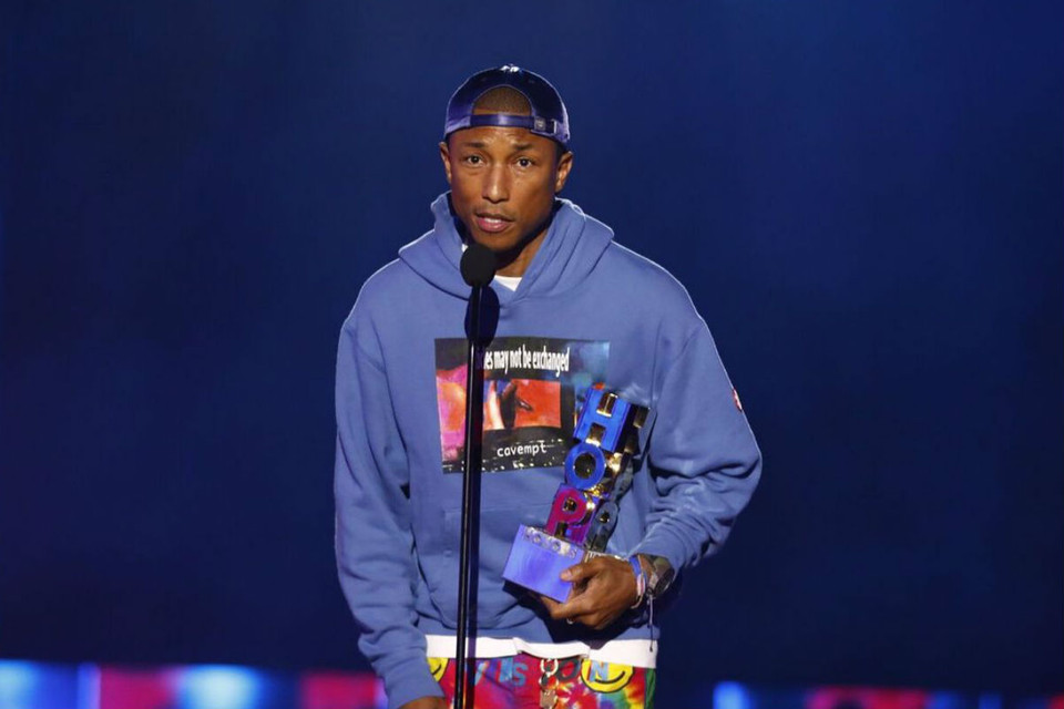 various colors 5693c bff76 Watch Full Pharrell Speech at VH1 Hip Hop Honors   HYPEBEAST