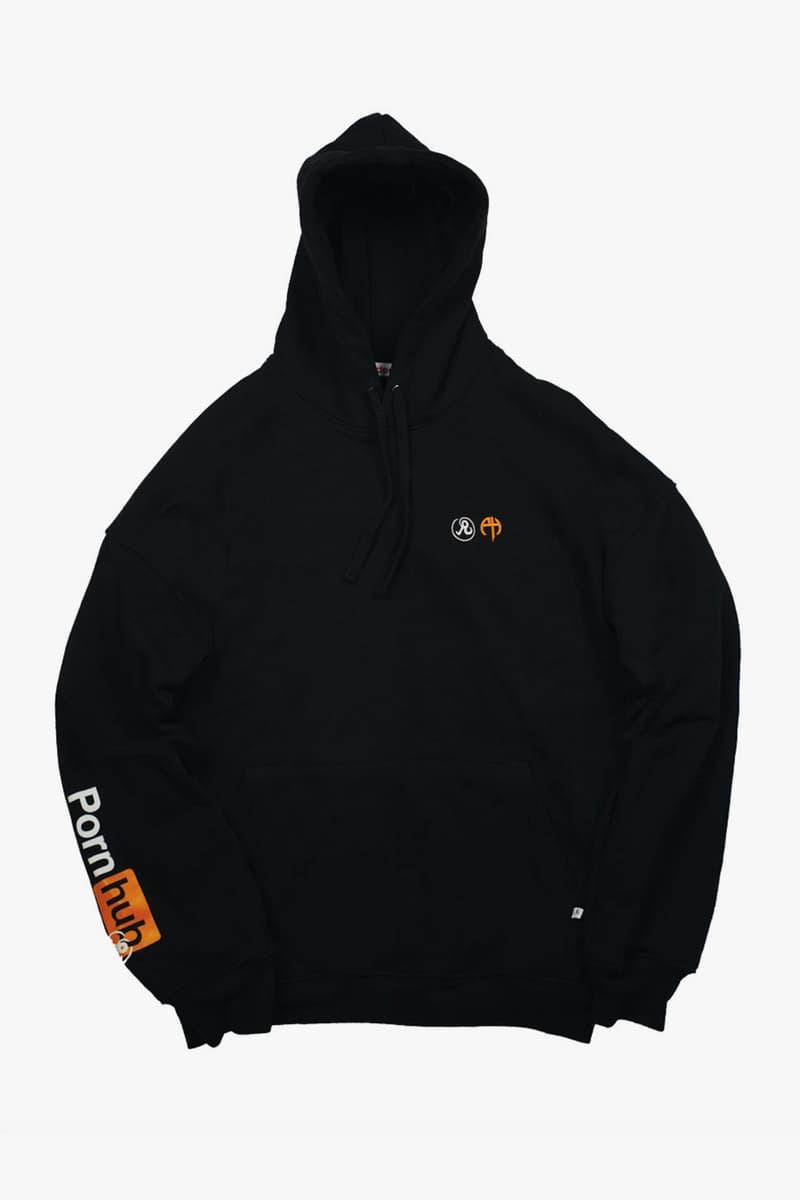 Richardson x PornHub Capsule Collaboration cap hoodie t shirt long sleeve short sleeve MA 1 swimsuit tote