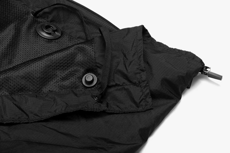 Riot Division City Jacket Kickstarter coat parker water resistant resilient automatic length reduction adjustable sleeves bag