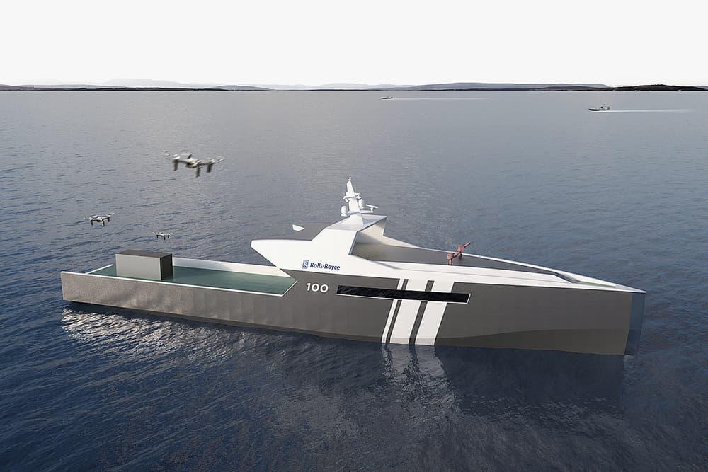 Rolls Royce Autonomous Naval Ship Navy Build