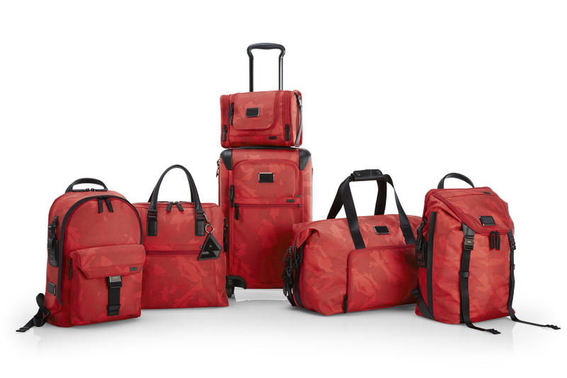Russell Westbrook TUMI Luggage Collection Suitcases Collaboration