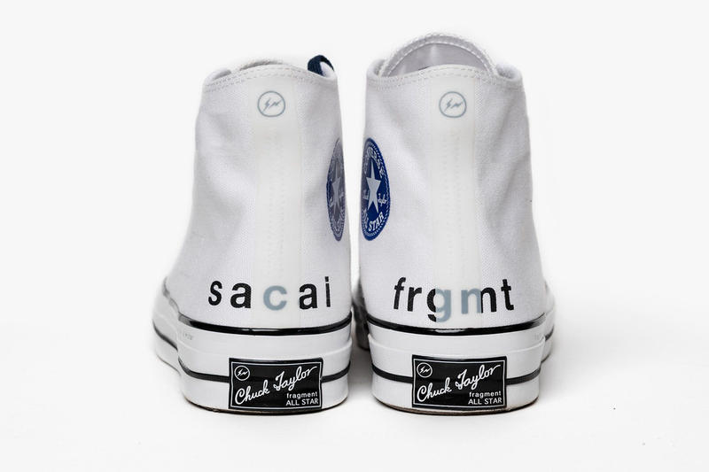 Converse Chuck Taylor All Star sacai fragment design collaboration Chitose Abe Hiroshi Fujiwara Footwear Shoes Sneakers
