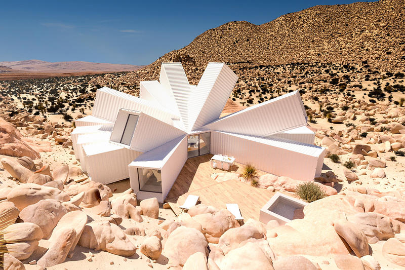 Joshua Tree Residence Shipping Containers