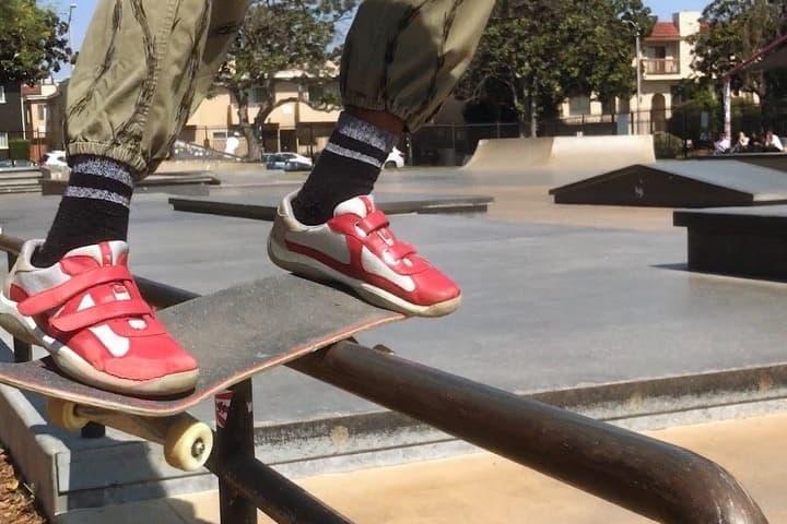 Skating Prada Sneakers Video illroots Skateboarding 2017 September Shoes Footwear