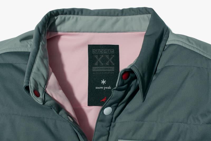 Staple 20th Anniversary Snow Peak Jackets & Tops