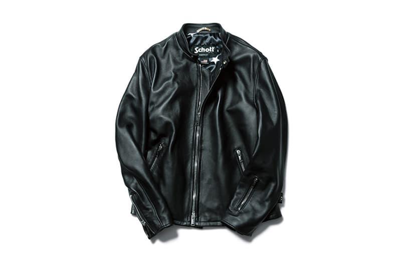 SOPHNET Schott Fall Winter 2017 Leather Riders Jacket Release Date Info