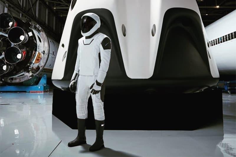 Full SpaceX Space Suit Elon Musk Reveal Instagram 2017 September 8
