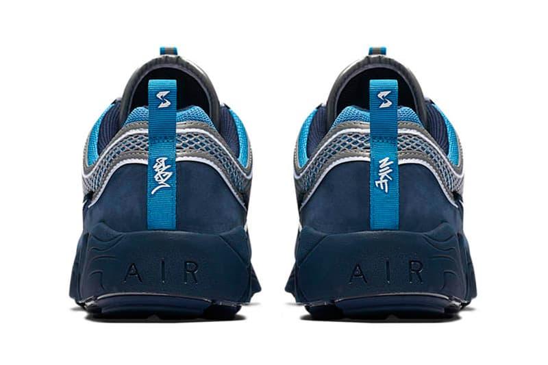 Stash Nike Air Zoom Spiridon Blue White Footwear Release Date Info First Look Leak
