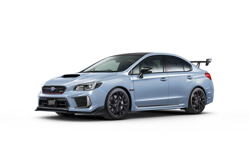Subaru WRX STI S208 Limited Edition Tokyo Japan 450 Examples Cool Grey Motor Show
